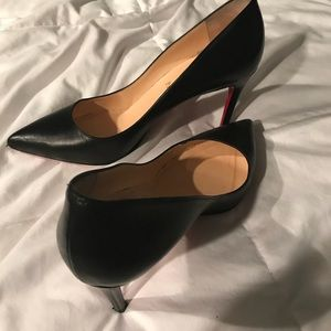 Authentic Christian Louboutin Pigalle 85 Kid Shoes